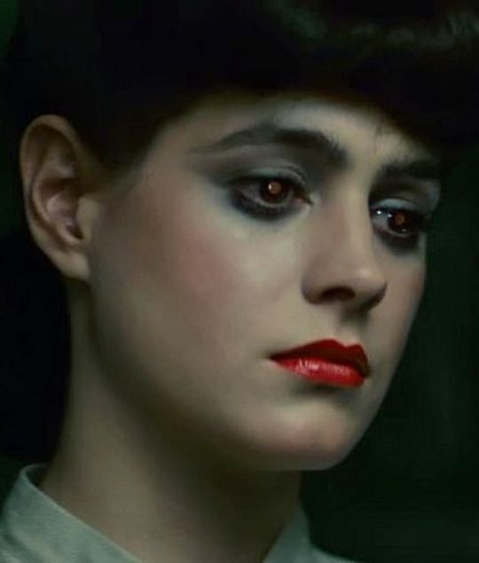 Sean Young in Blade Runner, 1982.