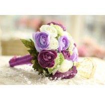 """Букет свадебный """"Butterfly Lilac"""""""