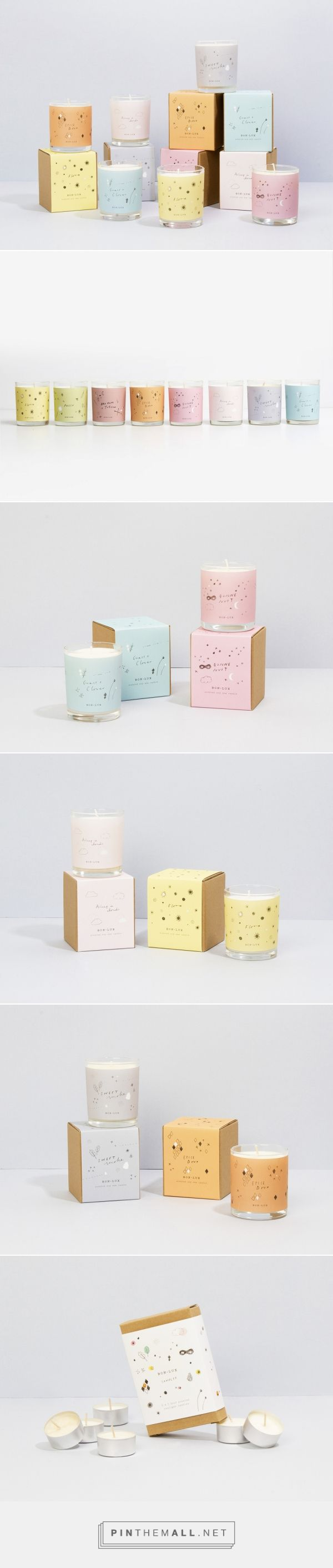 Box Lux Candle Packaging by Holly Canham | Fivestar Branding – Design and Branding Agency & Inspiration Gallery