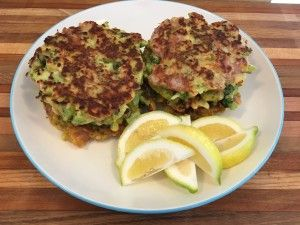 Bacon Broccoli Fritters   When you are looking for something really yummy and super easy, try out these fritters. A great lunch idea, or even for dinner. Oh, and did I mention they are healthy?