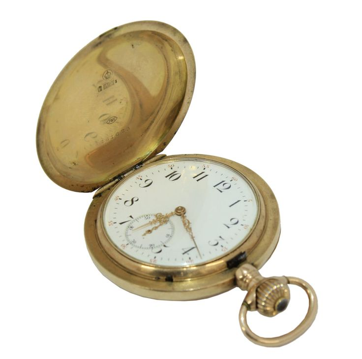 PÁNSKE VRECKOVÉ HODINKY  SCHAFFHAUSEN  Obdobie: koniec 19. stor.  Materiál: zlato     #art #auction #watch #gold #old #luxury #elegance #museum #auctionhouse #diana