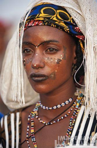 Fulani woman, North Cameroon.