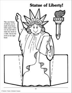 Statue of Liberty Activities