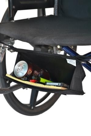 Small Glove Box :: wheelchair underseat storage bag for personal items