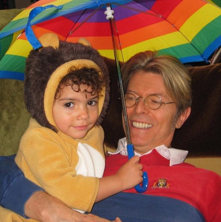 David Bowie and Iman's daughter
