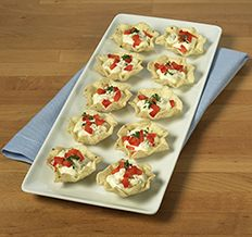 Blue Cheese Scoops! #InspiretheSeason #ad