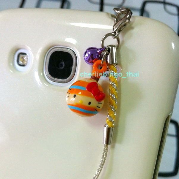 #HelloKitty Figure Mobile Phone Charm Strap With Dust Plug And Small Bell /candy from $3.99