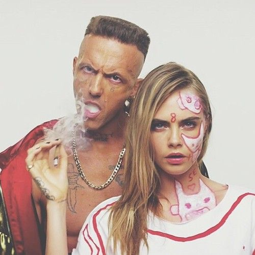 Cara Delevingne and Ninja | Ugly Boy Music Video by Die Antwoord.