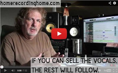If you can sell the vocals, the rest will follow  http://homerecordinghome.com/sweetening-lead-vocals-with-dave-pensado-video/