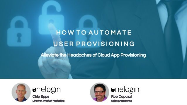 How to Automate User Provisioning