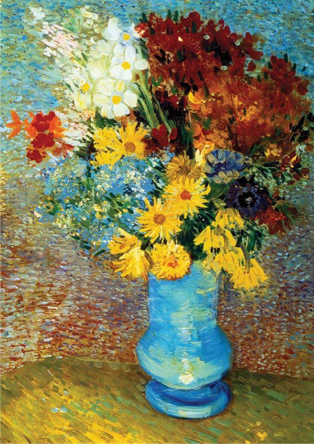 1000 TeileGemacht von EurographicsAbgeschlossenes Puzzle-Format   – Van Gogh