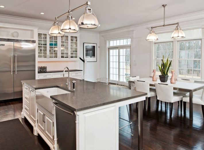 Kitchen Island With Sink And Seating Kitchen Island With
