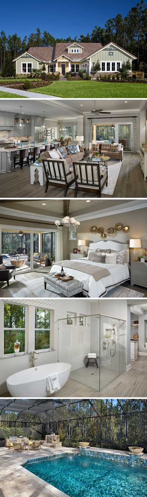 David Weekley Homes is now building in Nocatee's newest community, The Ranch at Twenty Mile. Located in Ponte Vedra, FL in the historic St. Johns County, this community offers luxuries such as a centralized amenity center, dog park, and convenient access to both Nocatee Parkway and Dixie Highway. The Waters is one of many floor plans offered here featuring plenty of customizable options to fit your needs. Check out our website for more information on this home and community.