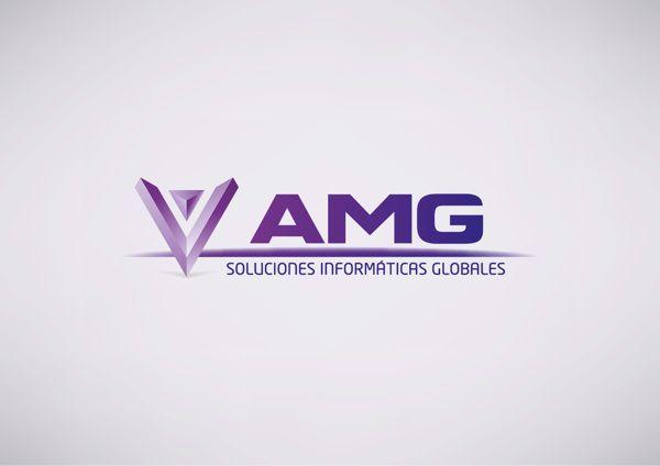 Rediseño de la marca AMG realizado para AMG, Asesoría y Medios de Gestión, en 2013.