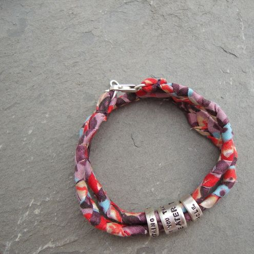 Three little rings, wrap bracelet:)Rings Wraps, Wraps Bracelets, Wrap Bracelets