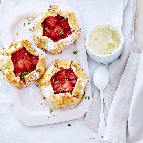 Rezept: Erdbeer-Tartelettes