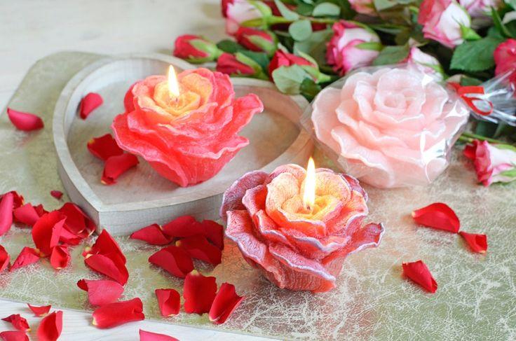 Svíčky růžičky