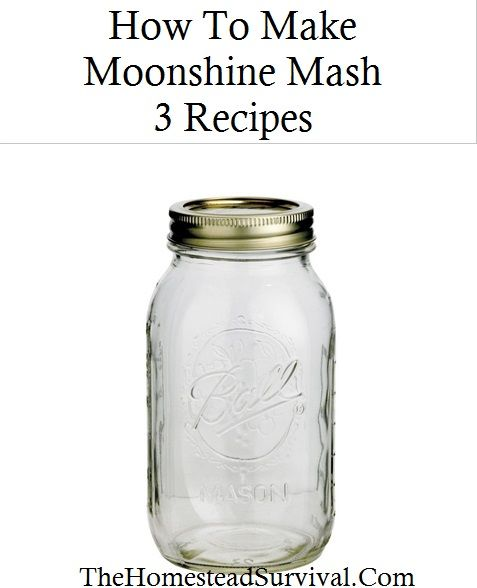 How To Make Moonshine Mash – 3 Recipes » The Homestead Survival