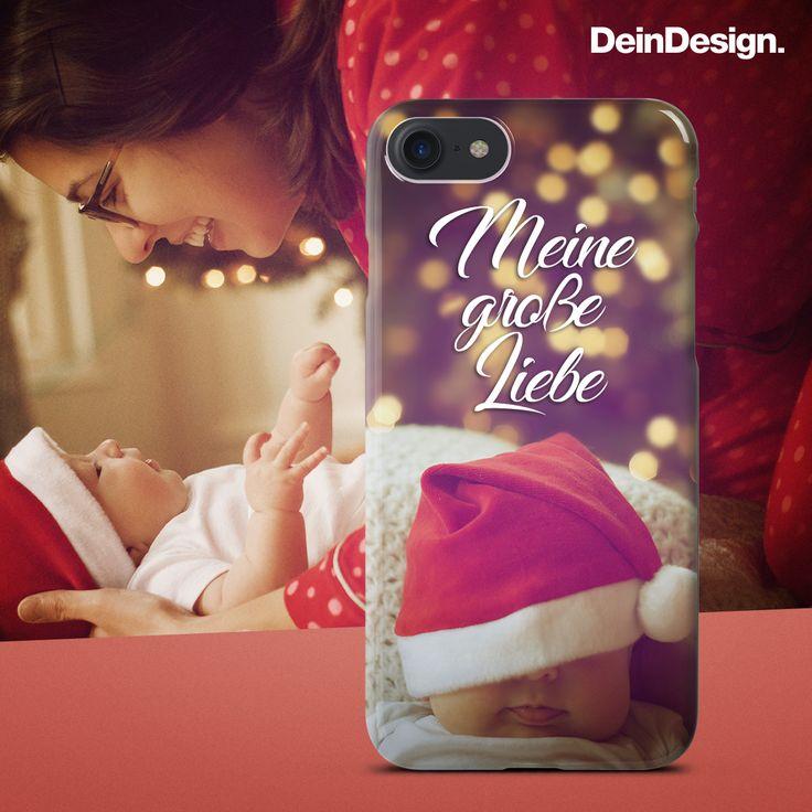 Weihnachten // Christmas // Geschenk // DIY // Handyhülle // Handy Case // Phone Case// Selbstgemacht // Selbst gestalten // Baby // Mama // Weihnachtsmütze // Winter // Selfmade