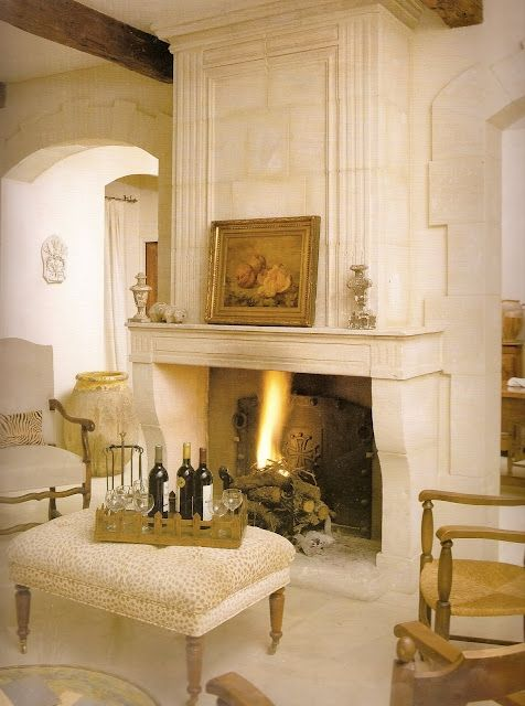 89 best FirePlace - French Country images on Pinterest | Fireplace ...