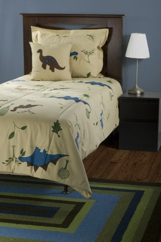 Amazon.com: Rizzy Home BT-738T RizKidz Dinosaurs 3-Piece Quilt Set