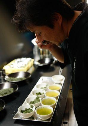 Travel Asian Japanese tea tasting