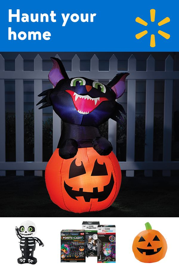 64 best Inflatables!! images on Pinterest Halloween decorations - halloween decorations at walmart