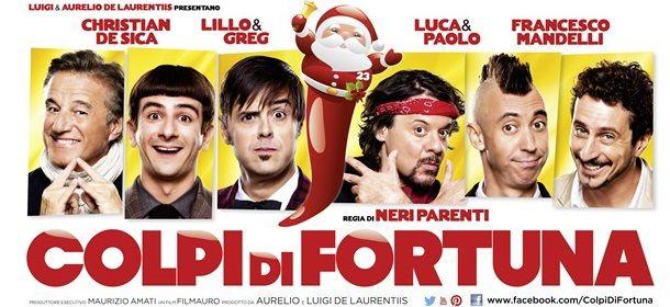 Neri Parenti, Colpi di fortuna: dal 19 dicembre al cinema. Trailer ufficiale