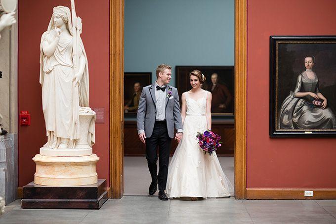museum wedding inspiration | Asya Photography | Glamour & Grace