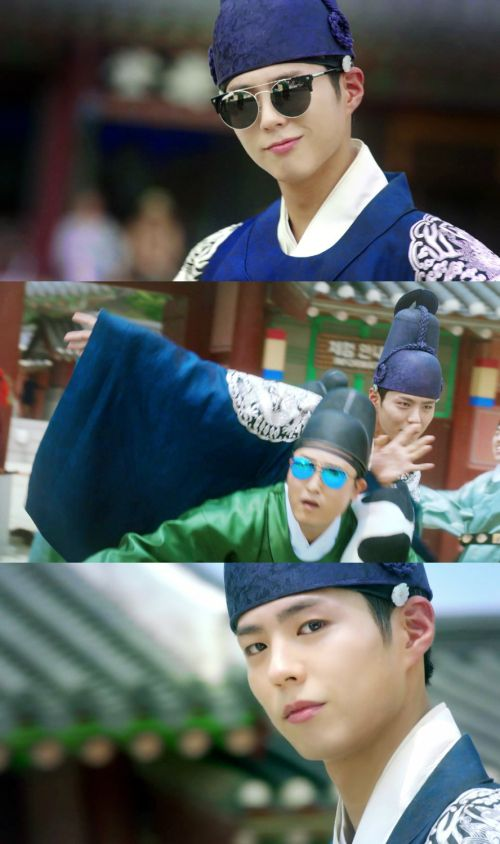Park Bo Gum and Kim Yoo Jung Leap and Dance for Joy in New Promos for Moonlight Drawn by Clouds   A Koala's Playground