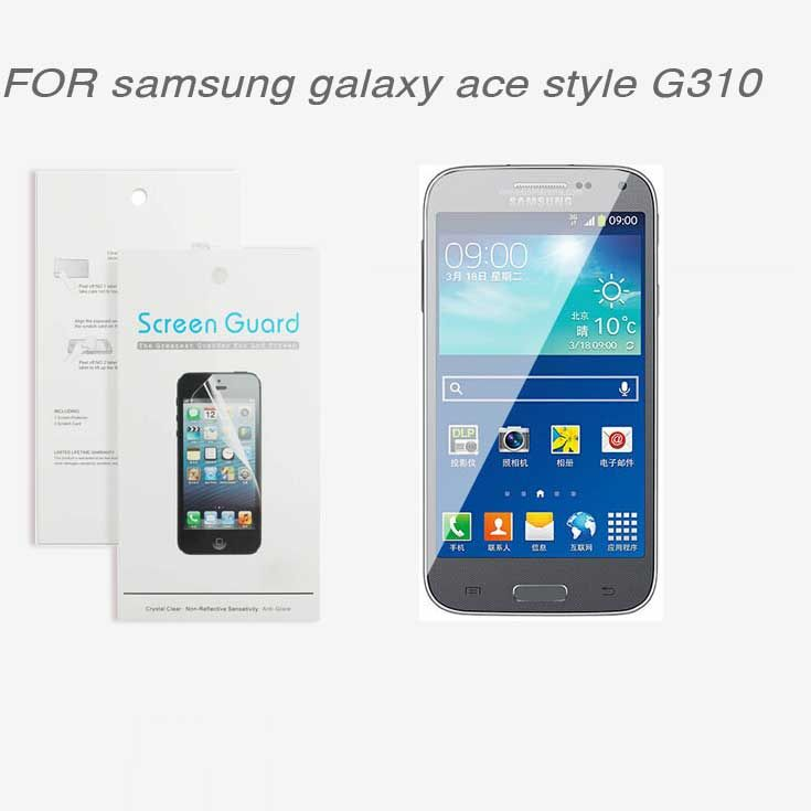 For samsung galaxy ace style G310 ,New 2014 free shipping 3x CLEAR Screen Protector Film For samsung galaxy ace style G310