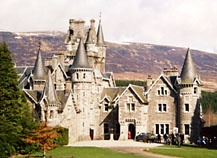 Monarch of the Glen near Highland Holiday Cottages Aviemore Cairngorms Highlands Scotland