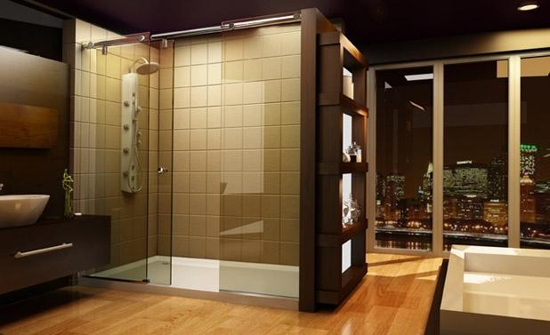Our Evo Shower Enclosures Capture Contemporary Clean