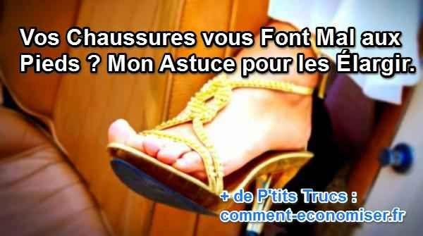 Vos chaussures vous font souffrir ?! Voici mon astuce pour élargir vos chaussures sans passer par la case cordonnier !  Découvrez l'astuce ici : http://www.comment-economiser.fr/confort-chaussures-collants-congelateur.html?utm_content=buffer0162c&utm_medium=social&utm_source=pinterest.com&utm_campaign=buffer
