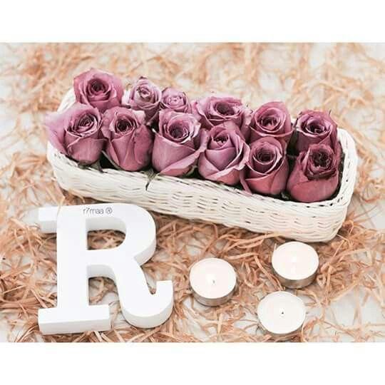 Pin By Tahani Elbasheer On حروف ورد Flower Letters
