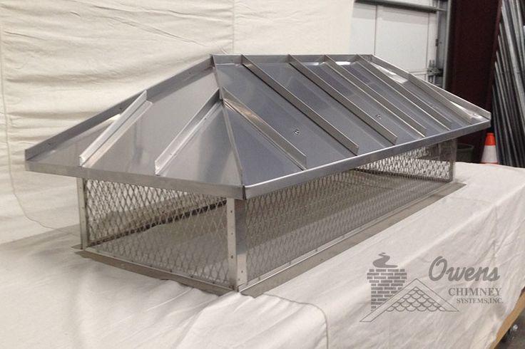 Custom stainless steel top mount with hip ridge lid