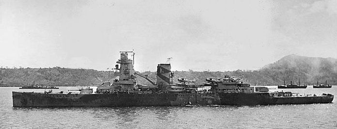 Dutch Navy Cruiser De Ruyter
