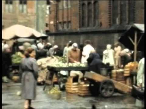 Powojenny Gdańsk na filmie z 1956 roku / #Gdansk after #WWII, movie from year 1956