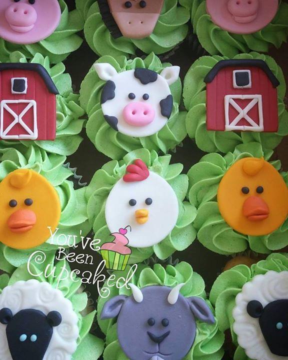 Farm cupcakes                                                       …