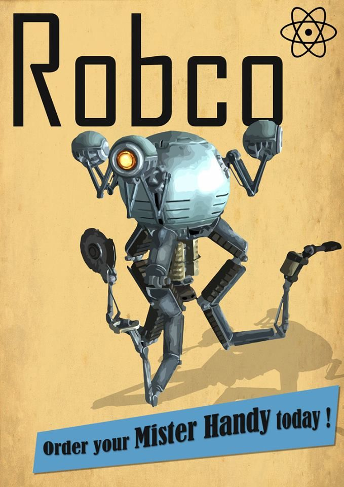 Fallout 4 | RobCo Mister Handy