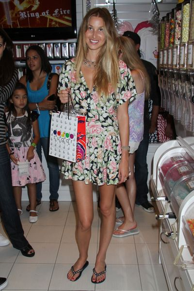 Whitney Port enjoys the Sugar Factory