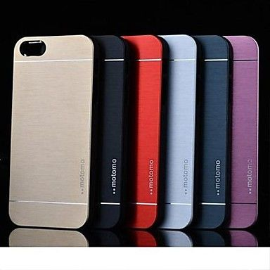 USD $ 3.99 - Elegant Design Aluminum Protective Case for iPhone 5 (Assorted Colors) , Free Shipping On All Gadgets!