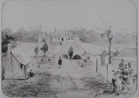 Government Farm at Rosehill, 1791, LSP00050