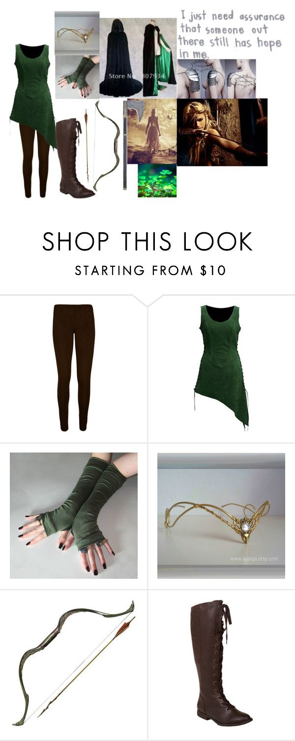 """""""Locust the woodland elf"""" by mattiebrogan ❤ liked on Polyvore featuring WearAll and Blowfish"""