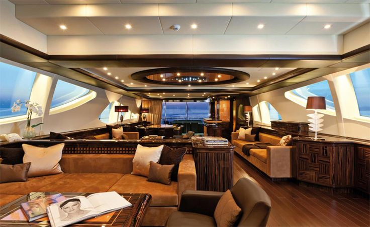 Talk about luxury! This boat is 163' long.