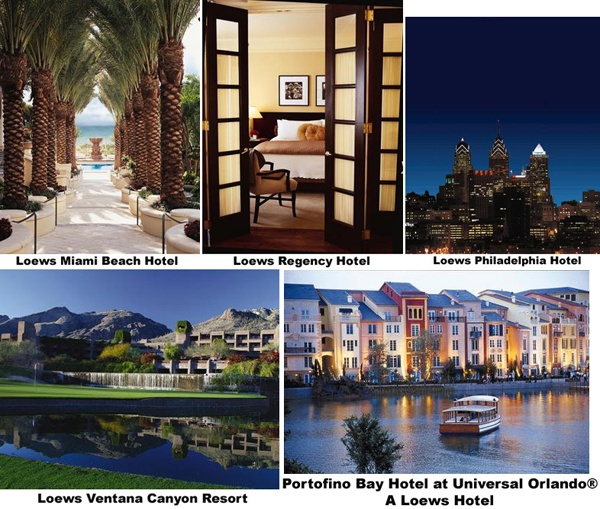 Lowes Hotels ~ Resorts. #hotel #jobs