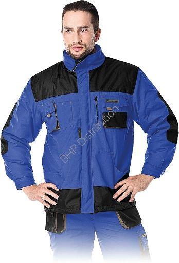 Niebieska kurtka robocza zimowa LH-FMNW-J_NBS