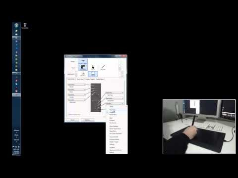 Wacom Intuos 5 touch configuration/ 3ds Max