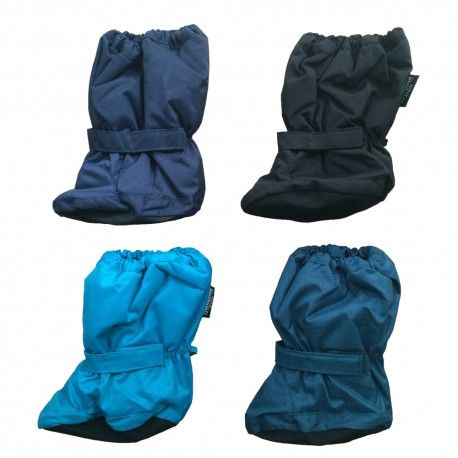 Padded soft footies, waterproof breathable warm, various colours, Minymo