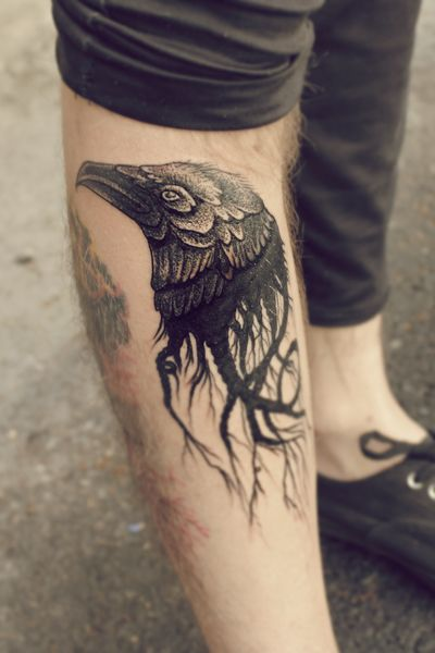 55 Brooding Raven Tattoos